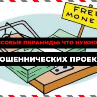 Финансовые пирамиды: что нужно знать о мошеннических проектах
